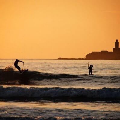 Surf Essaouira, Morocco.